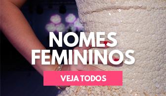 Nomes femininos