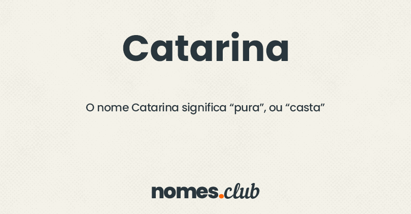 Catarina significado