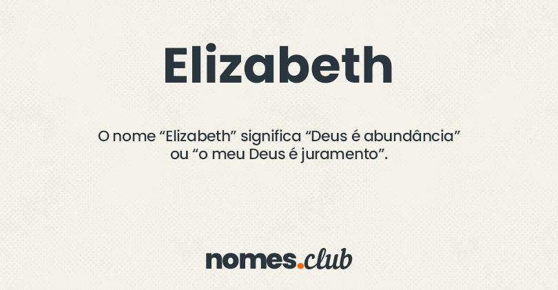 Elizabeth significado