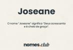 Joseane significado