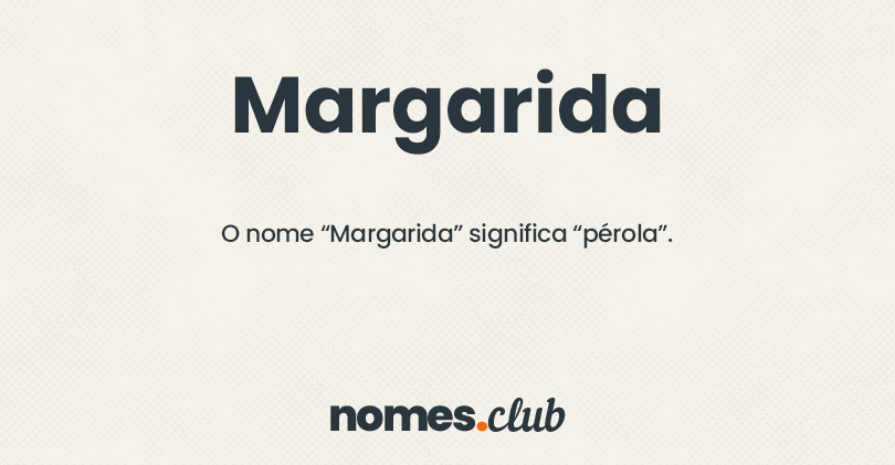Margarida significado