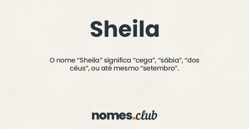 Sheila significado